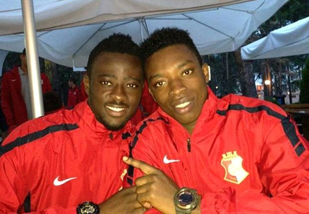 Napredak's Frimpong and Regan