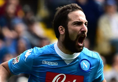 Source: Higuain closing in on Juve switch