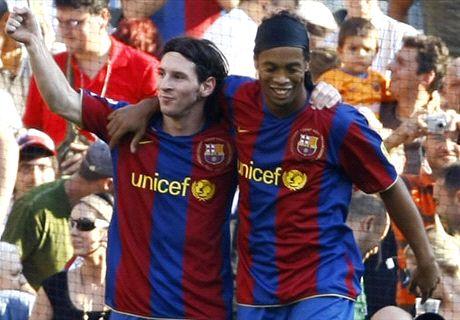 Ronaldinho: CR7 complete, Messi better