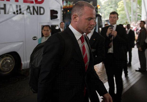Rooney no estará disponible para los primeros partidos del Manchester United en la temporada
