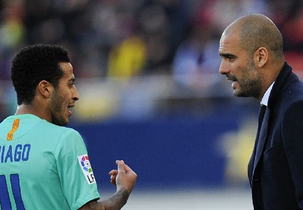Thiago: Guardiola attracted me to Bayern