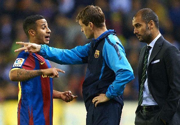 El Barcelona contra Pep