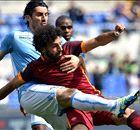 Números e pranchetas para Lazio 0 x 2 Roma