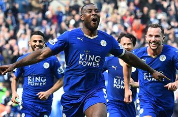 Morgan discusses Leicester unity... just as Vardy aims a shot at his head