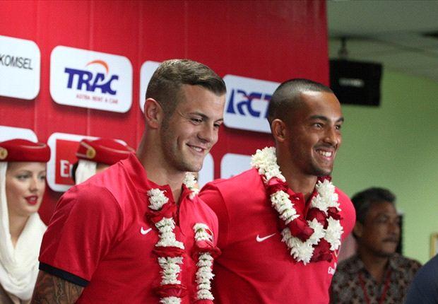 Jack Wilshere dan Theo Walcott menyampaikan kesannya tentang Indonesia
