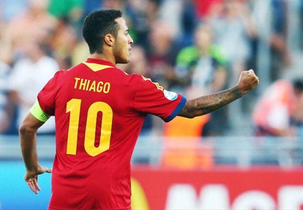 Thiago Alcantara wird bald im Mittelfeld des FC Bayern München wirbeln
