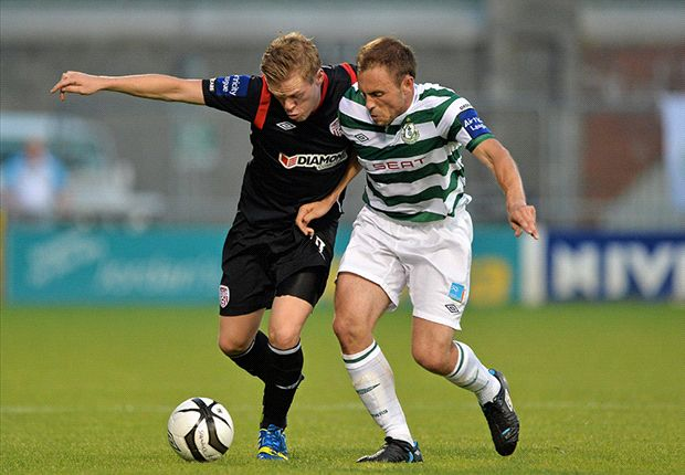 Simon Madden joins Shamrock Rovers from Derry City
