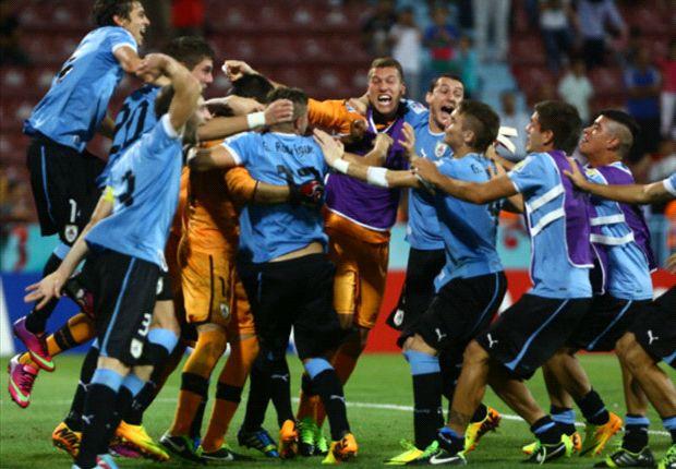 Uruguay festejó el pase a la final. ¿Repetirá ante Francia?
