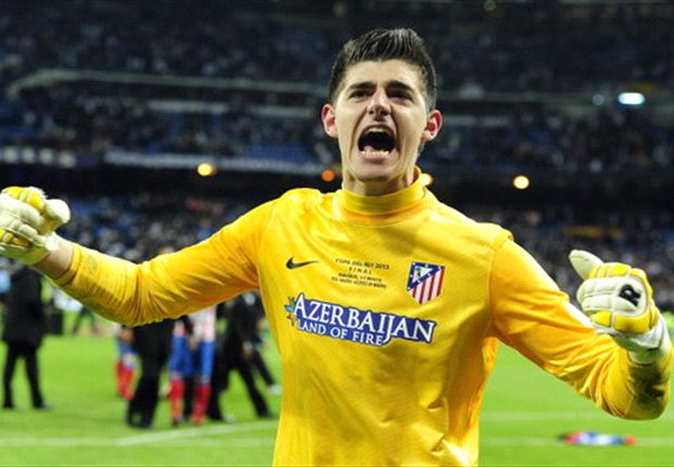 Diego Costa is a great striker, says Courtois