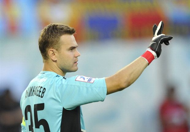 Igor Akinfeev fast becoming the heir to the legendary Lev Yashin