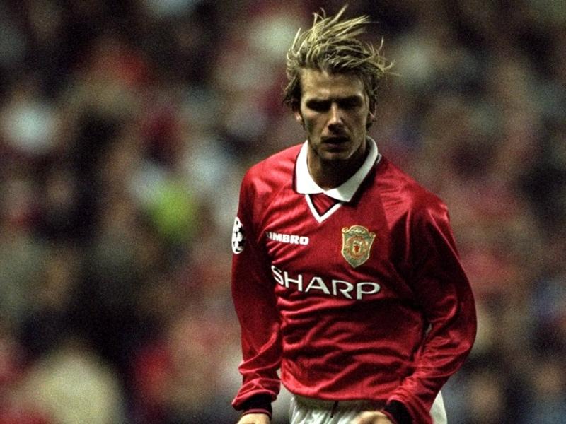 David Beckham honoré par l'UEFA et son président pour l'ensemble de sa carrière