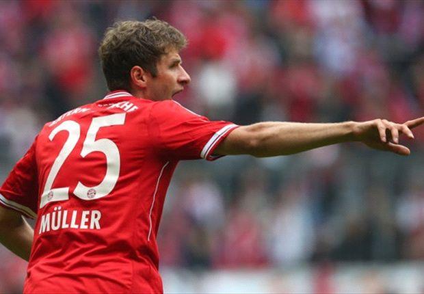 Müller überzeugte mit seinem Dreierpack gegen Rehden