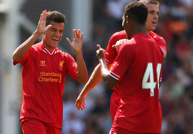 Ibe stunned by debut Liverpool goal
