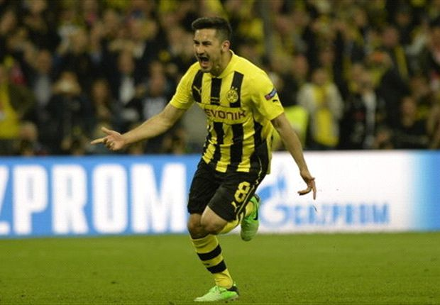 Back injury boost for Gundogan