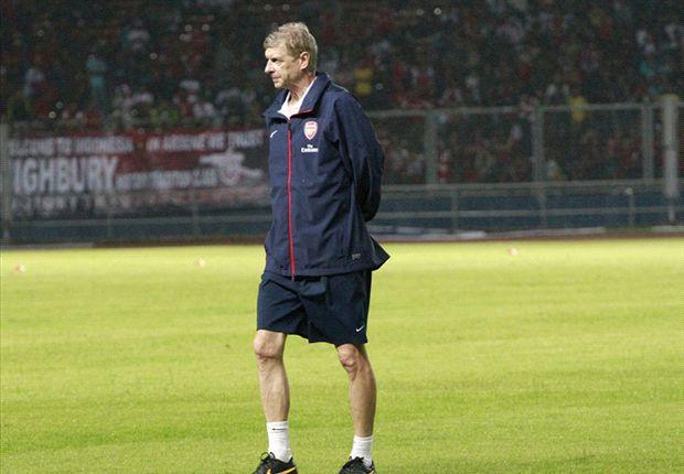 Wenger sangat menikmati laga kontra Indonesia Dream Team