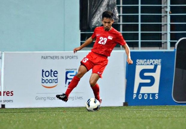 Nazrul Nazari was the only player retained from the draw against Hougang. (Photo: FAS)
