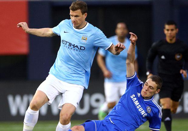 Erzielte den entscheidenden Treffer für City: Edin Dzeko
