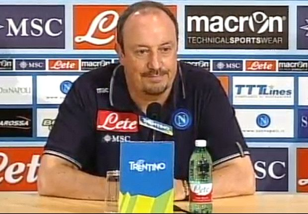Benitez: Napoli needs a 40-goal striker
