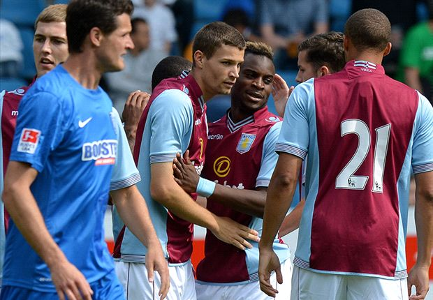 Bochum 1-1 Aston Villa: Last-minute goal cancels out Helenius opener