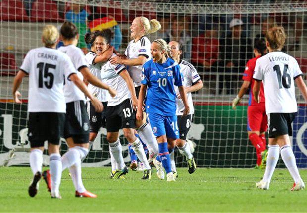 DFB-Frauen zeigen Reaktion auf EM-Fehlstart: Sieg gegen Island