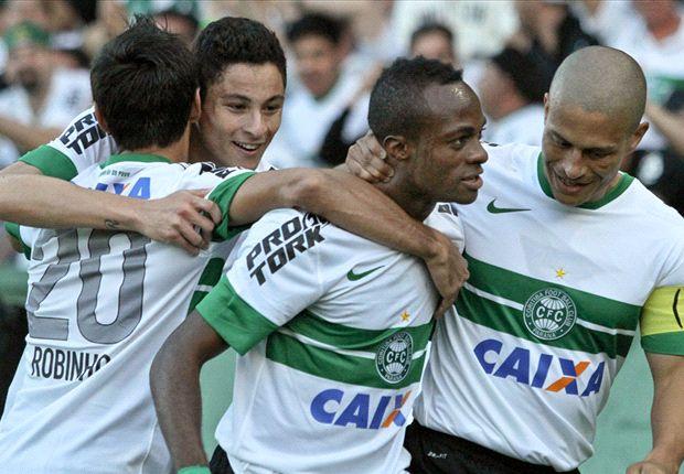 Coritiba 1x0 Atlético-PR: Geraldo marca e Coxa retoma a liderança do Brasileirão