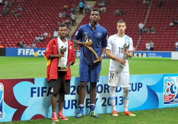 Clifford Aboagye won the Bronze Ball at the Under-20 World Cup