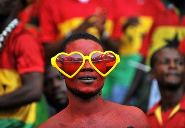 Ghana fans expectant of the tie in Kumasi