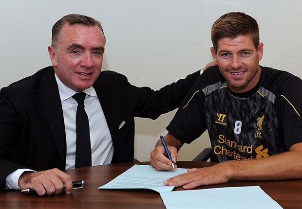 Liverpool anunciou que Steven Gerrard seguirá na equipe