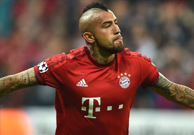 Bayern Munich 1-0 Benfica: Early Vidal strike puts Guardiola's men in charge