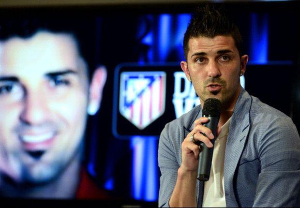 David Villa quiere ganar al Barcelona