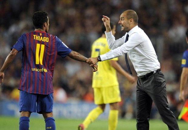 """Thiago: """"Geen trainer zoals Pep"""""""