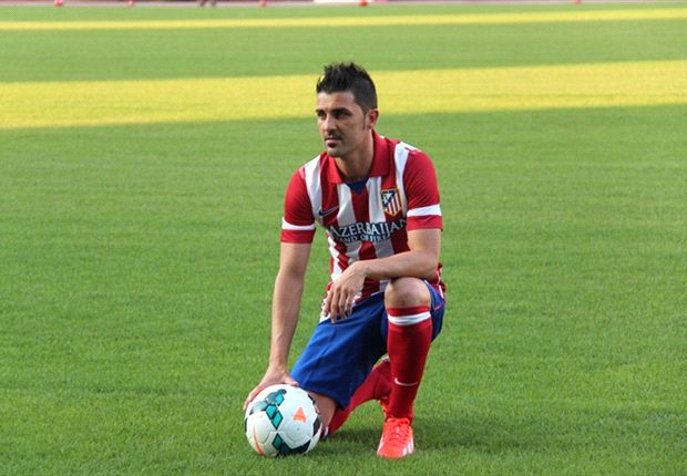 David Villa: I can fill Falcao's boots at Atletico Madrid