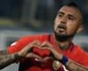 Vidal ya lleva la Copa América en la piel