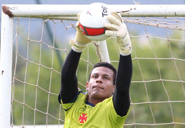 Na primeira semana de treinos com Dorival, Diogo Silva conquistou a titularidade