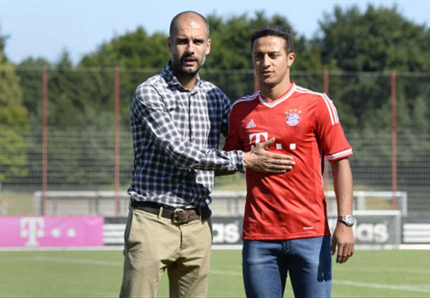 Guardiola concerned with Thiago fitness