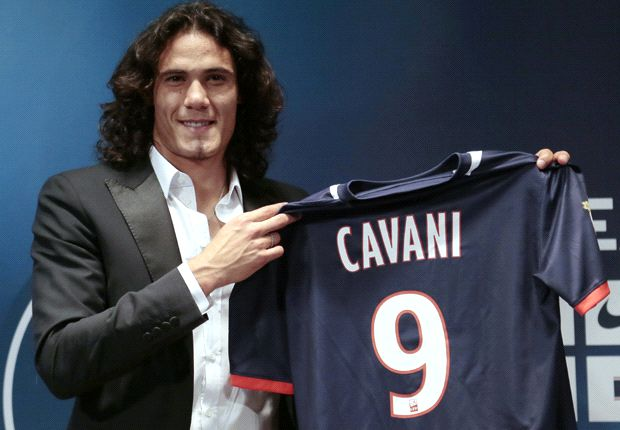 Paris Saint-Germain seal Cavani signing