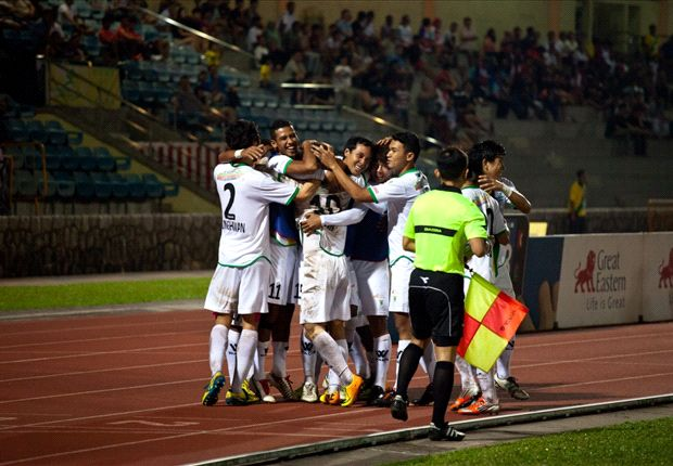 The Rams cruised to a 5-2 win against Aide Iskandar's young side