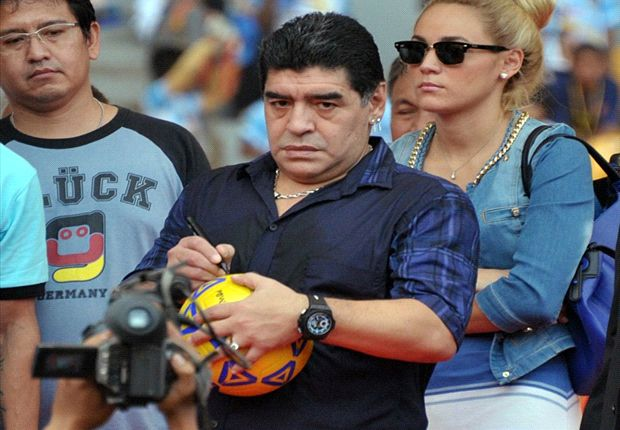 Maradona apuntó contra Bianchi y Bilardo