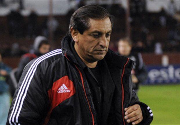 Ramón Díaz defendió el esquema que propuso ante San Lorenzo.