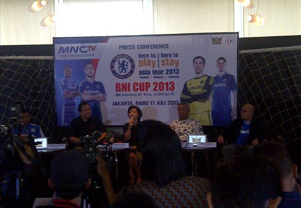 MNCTV, Siarkan laga Chelsea dan BNI Indonesia All Star secara langsung.