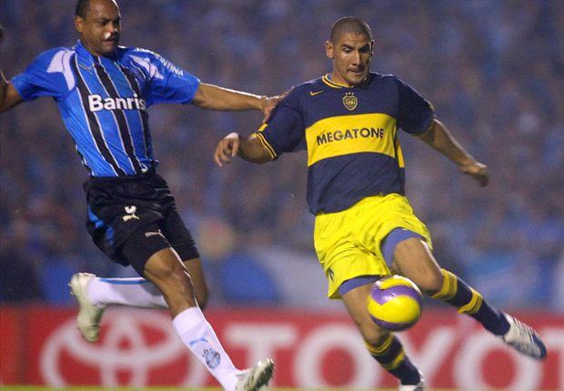El Cata Díaz jugó en Boca entre 2005 y 2007.