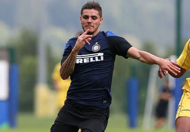 Inter new-boy Icardi eager to learn from Milito & Palacio