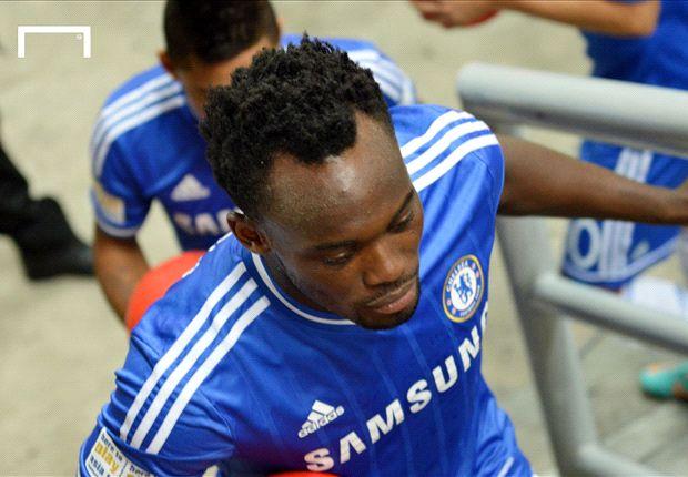 Macht sich ob seiner Situation beim FC Chelsea keine Sorgen: Michael Essien