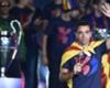 Xavi se voit sur le banc du Barça