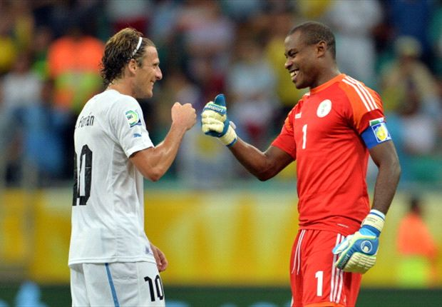 Enyeama was dropped due to blunder against Uruguay