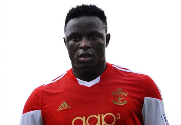 Wanyama in action for Southampton against Germany side Schalke