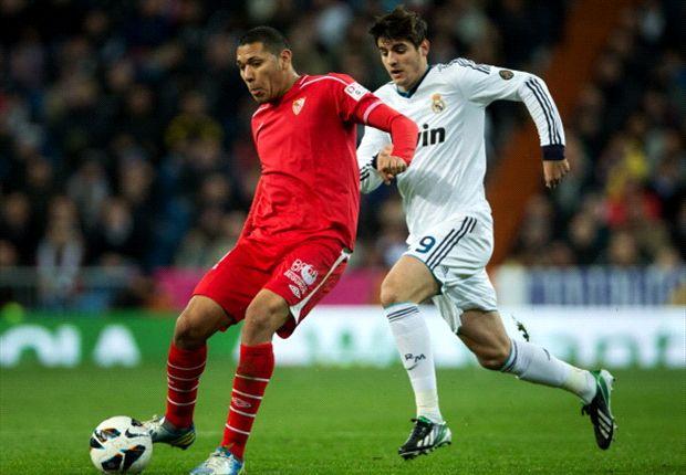 Hedwiges Maduro vom FC Sevilla ist beim Hamburger SV im Gespräch