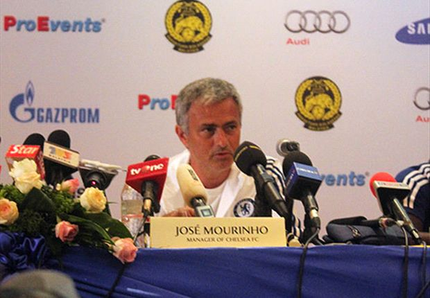 Jose Mourinho has an affinity for the Malaysian fans.