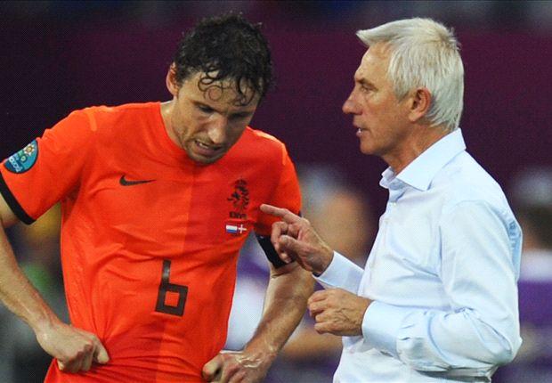 Mark van Bommel im Gespräch mit Bert van Marwijk