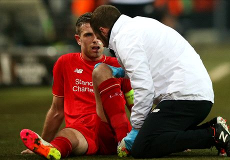Henderson a Euro doubt after new blow